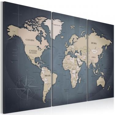 Obraz  Antracytowy świat