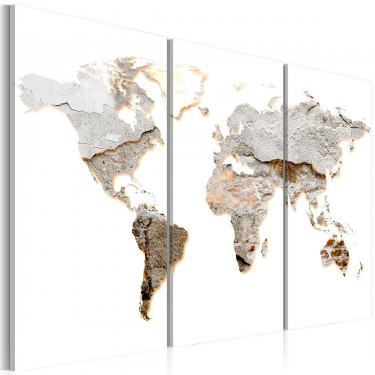 Obraz  Betonowe kontynenty