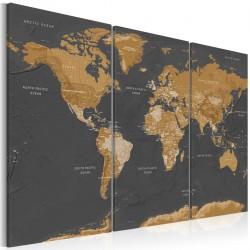 Obraz   Mapa świata Nowoczesna estetyka