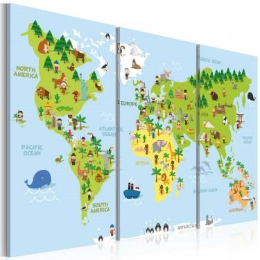 Obraz  Dziecięcy świat