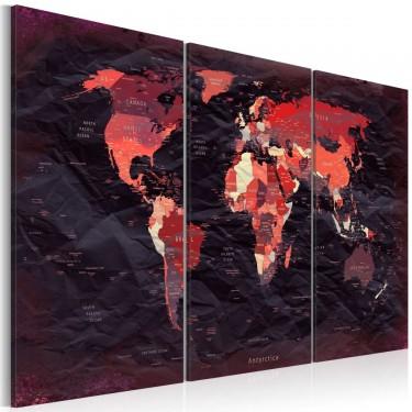 Obraz  Plan świata