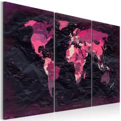 Obraz  Purpurowy świat