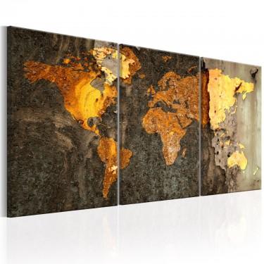 Obraz  Metalowy świat