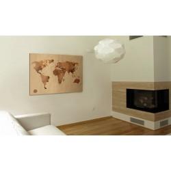 Obraz  Świat kawą malowany