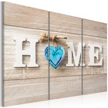 Obraz  Home Niebieska miłość