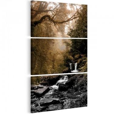 Obraz  Mały wodospad