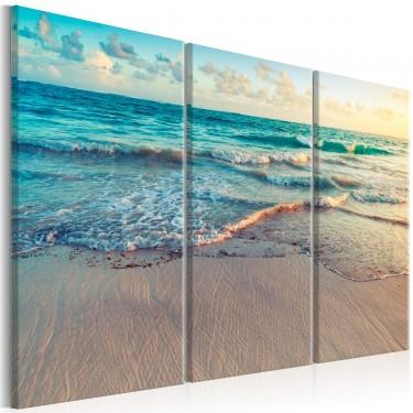 Obraz  Plaża w Punta Cana (3częściowy)