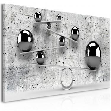 Obraz  Kule i beton (1częściowy) szeroki