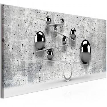 Obraz  Kule i beton (1częściowy) wąski