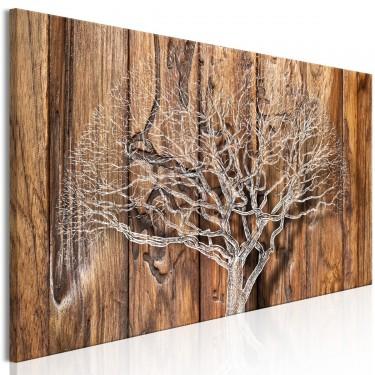 Obraz  Kronika drzewa (1częściowy) wąski