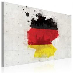 Obraz - Mapa Niemiec
