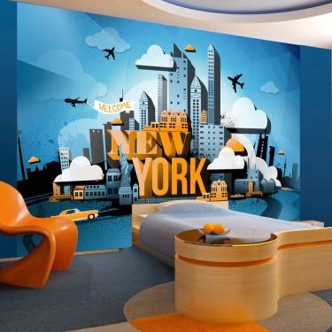 Fototapeta  New York  welcome