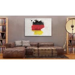 Obraz  Mapa Niemiec