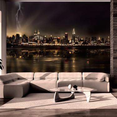 Fototapeta  Burza w Nowym Jorku