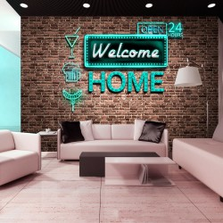 Fototapeta - Welcome home - inscription