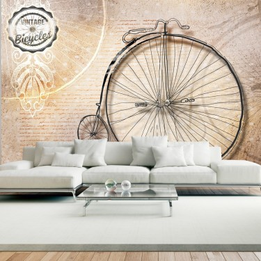 Fototapeta  Vintage bicycles  sepia