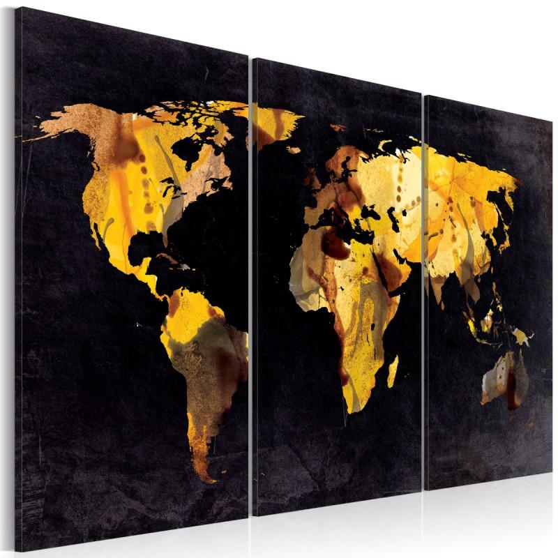 Obraz  A gdyby świat był pustynią...  tryptyk