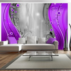 Fototapeta - Za zasłoną purpury