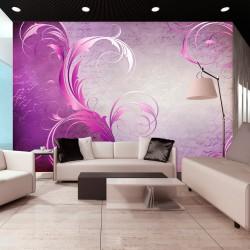 Fototapeta - Purpurowy liść