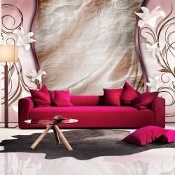 Fototapeta - Różowy spokój