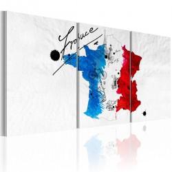 Obraz - Mapa Francji