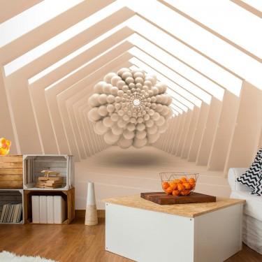 Fototapeta  Abstrakcyjny korytarz
