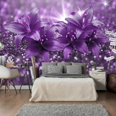 Fototapeta  Arcydzieło fioletu