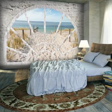 Fototapeta  Widok z okna  Plaża