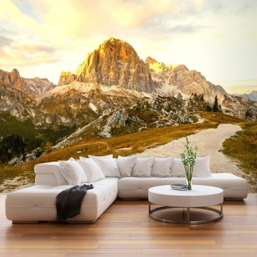 Fototapeta  Piękne Dolomity