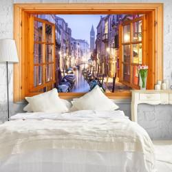 Fototapeta - Okno na Wenecję