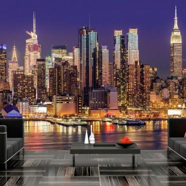 Fototapeta  NYC Nocne miasto