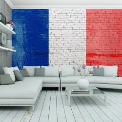 Fototapeta - Francuska flaga