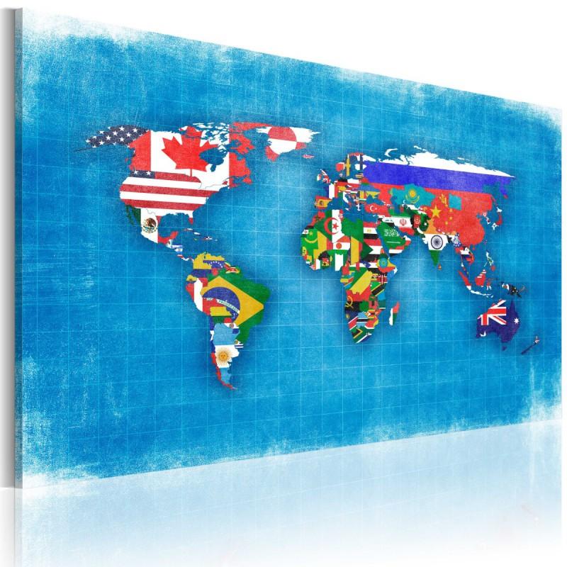 Obraz  Flagi świata