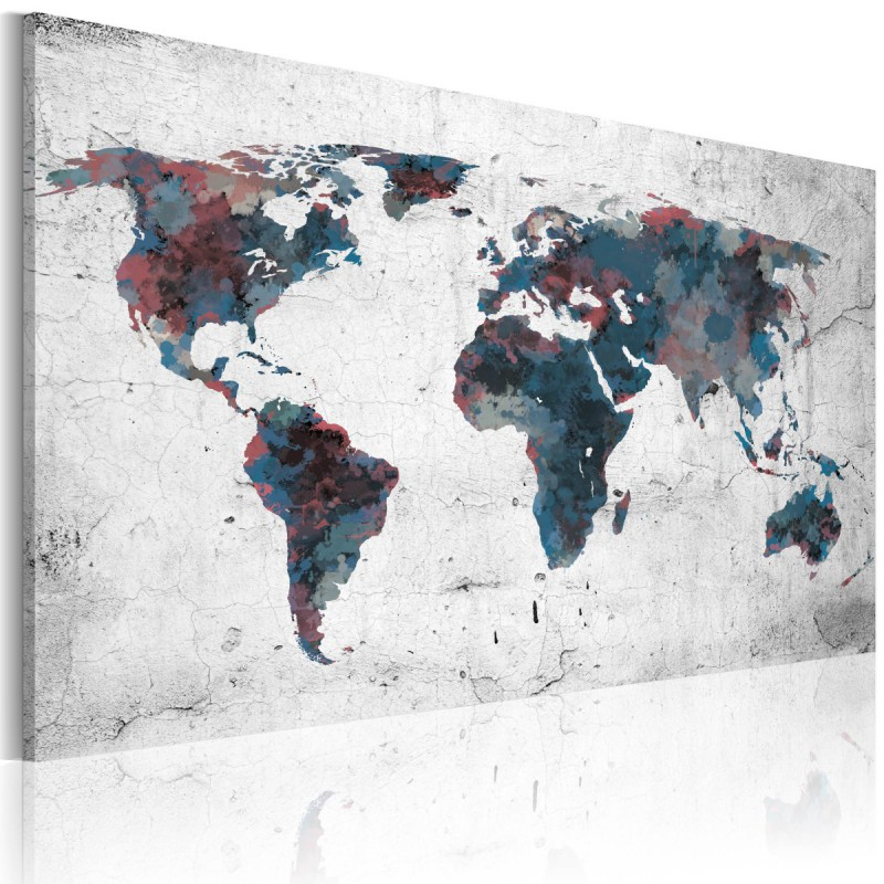 Obraz  Nieodkryte kontynenty