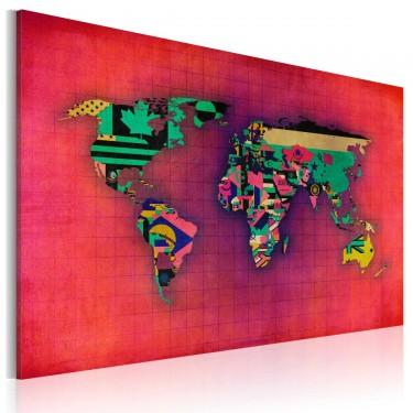 Obraz  Świat jest mój