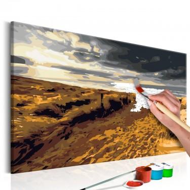 Obraz do samodzielnego malowania  Dzika plaża