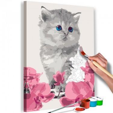Obraz do samodzielnego malowania  Kociątko