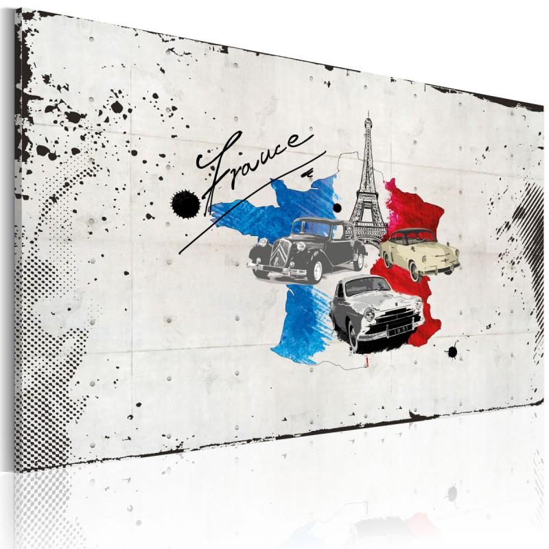 Obraz  Francuski podróżnik