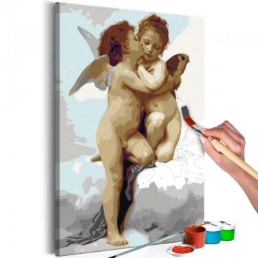 Obraz do samodzielnego malowania  Aniołki (miłość)