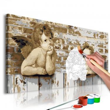 Obraz do samodzielnego malowania  Aniołki Rafaela