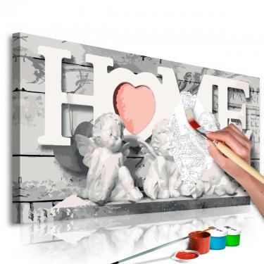 Obraz do samodzielnego malowania  Aniołki (Home)