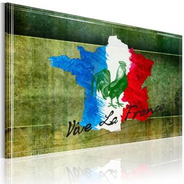 Obraz  Vive la France