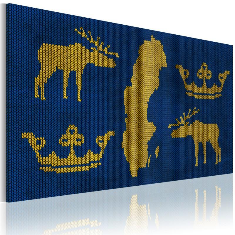 Obraz  Królestwo Szwecji