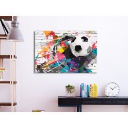 Obraz do samodzielnego malowania  Kolorowa piłka