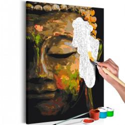 Obraz do samodzielnego malowania Budda w cieniu