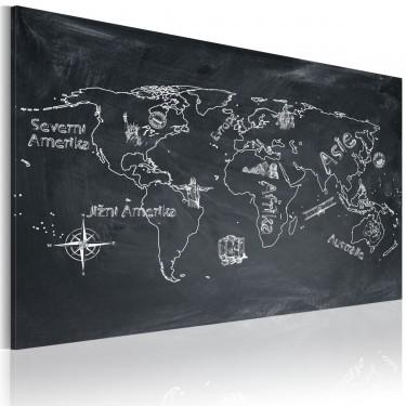 Obraz  Lekcja geografii (Język czeski)