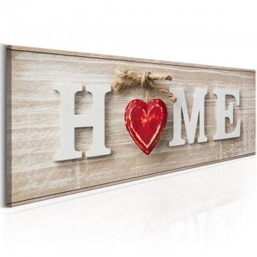 Obraz  Home Red