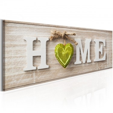 Obraz  Home Green