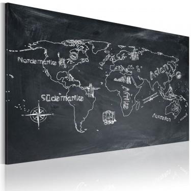 Obraz  Lekcja geografii (Język niemiecki)