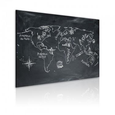 Obraz  Lekcja geografii (Język francuski)